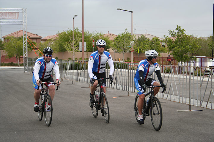 Tour de Summerlin Finish Line