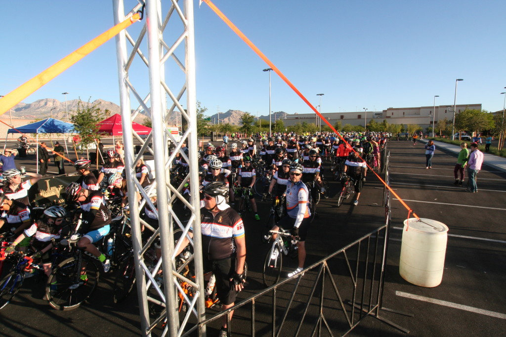 Tour de Summerlin Start Corral