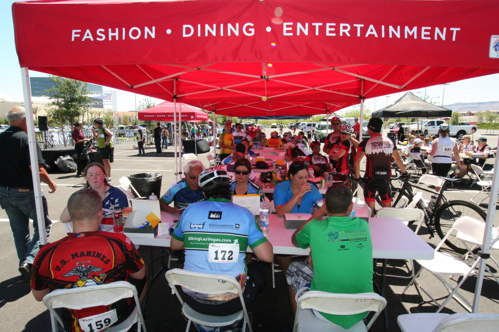 Tour de Summerlin Finish Lunch