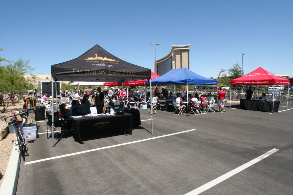 Tour de Summerlin Finish Area