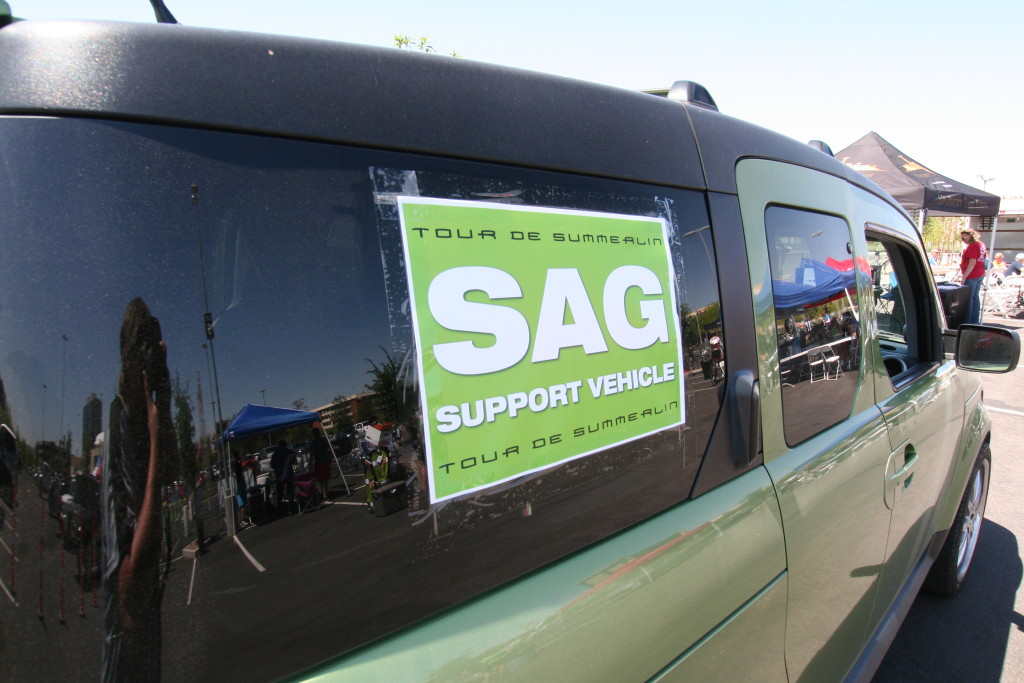 Tour de Summerlin SAG Vehicle