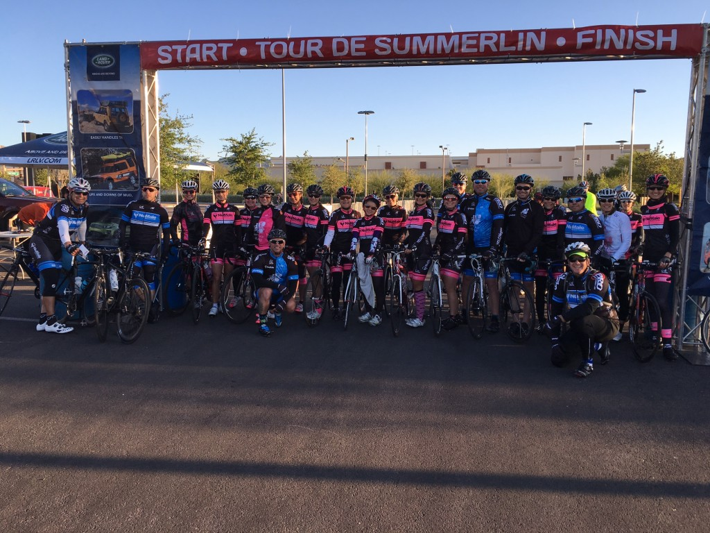 Tour de Summerlin Start Line